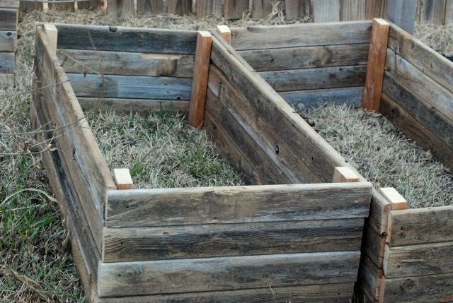 Second new garden bed